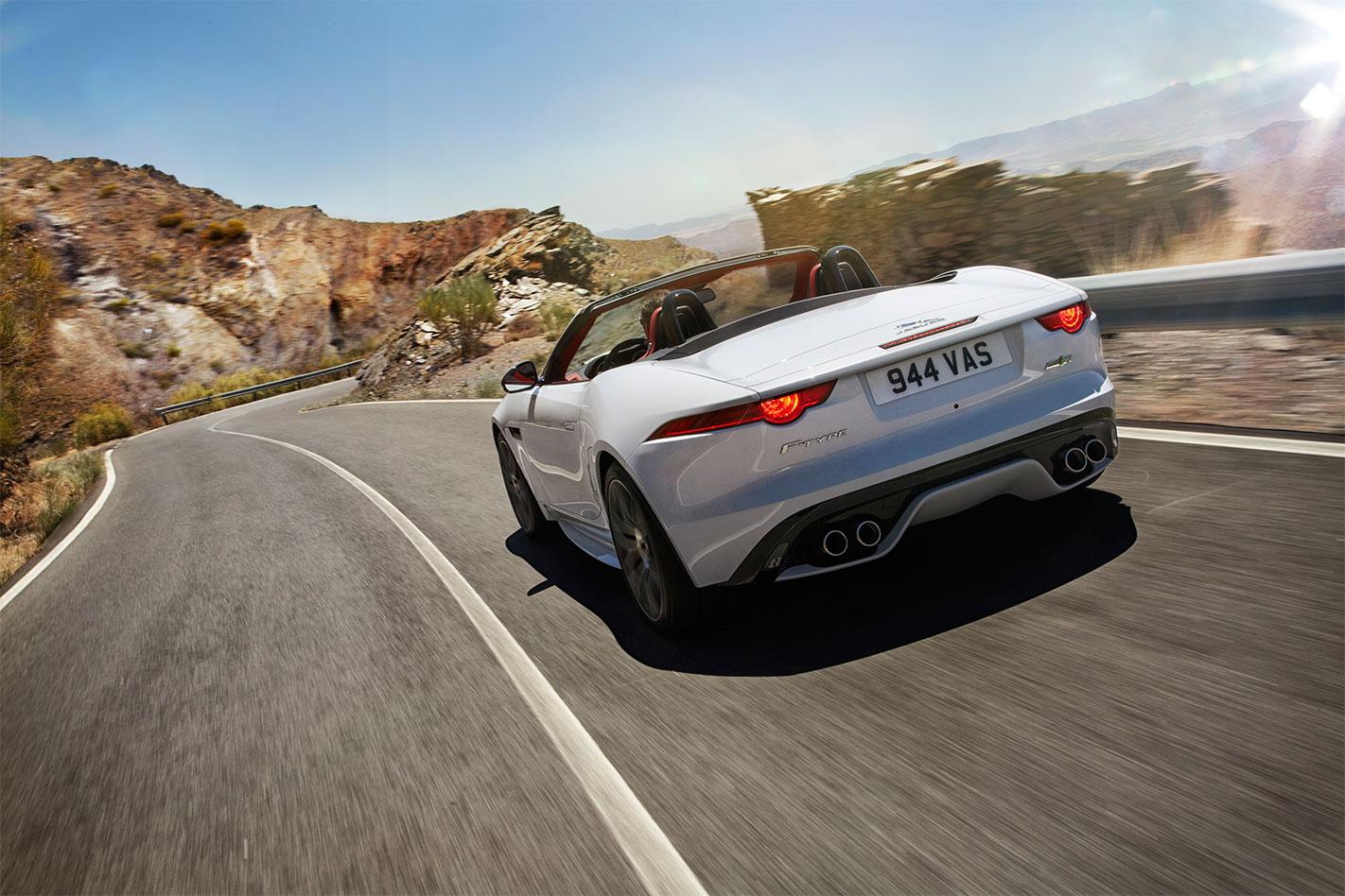 Jaguar -MY16-F-Type -R-rear