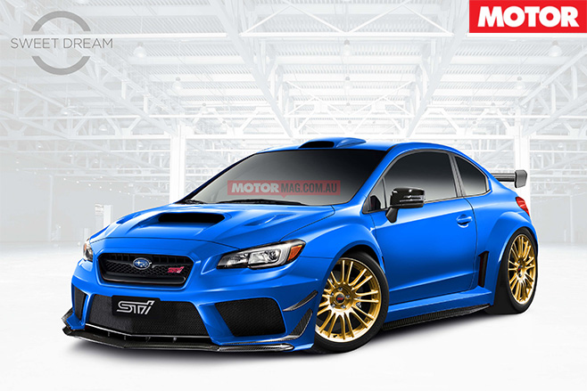 Sweet Dream Subaru WRX STI 23B