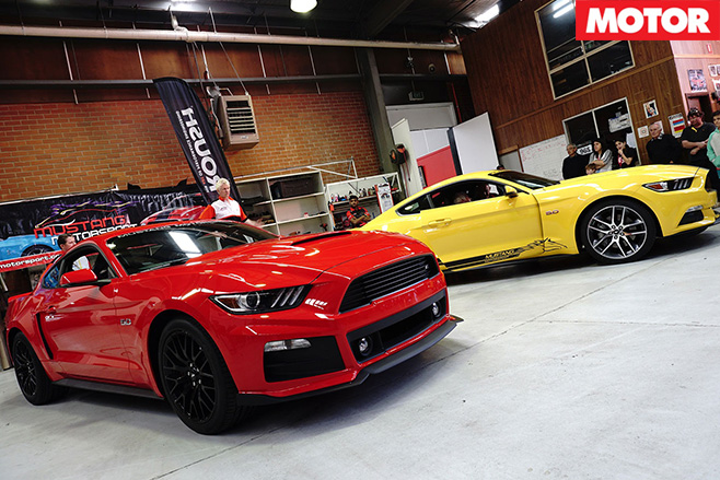Ford Mustang lands in Oz
