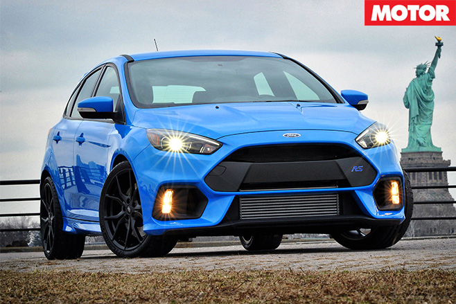 Ford Focus RS power revealed