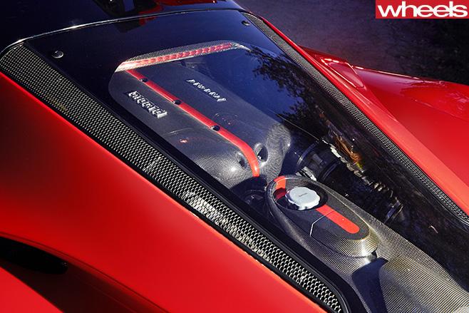 Ferrari -La -Ferrari -rear -engine