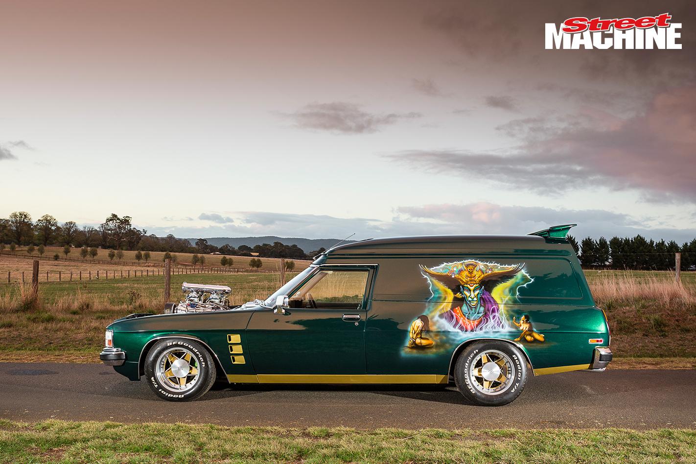 HX Holden Panel Van