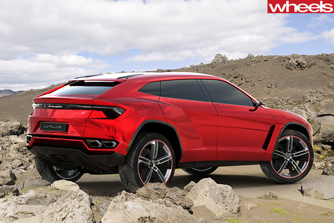 Lamborghini -Urus -side -rear -on -mountain