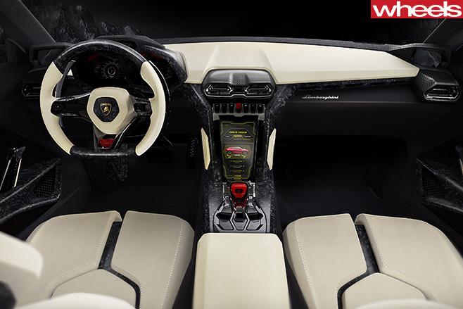 Lamborghini -Urus -interior