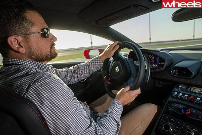 Lamborghini -Huracan -glenn -butler -driving