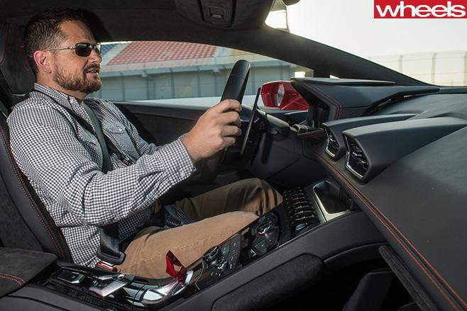 Lamborghini -Huracan -glenn -butler -driving -fast
