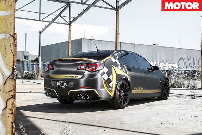 Walkinshaw Racing Edition rear 2