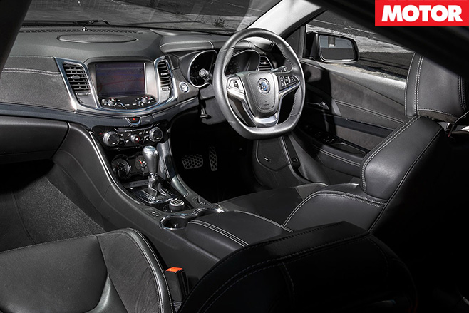 Walkinshaw Racing Edition interior