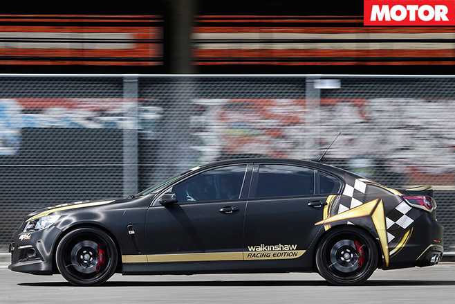 Walkinshaw Racing Edition side