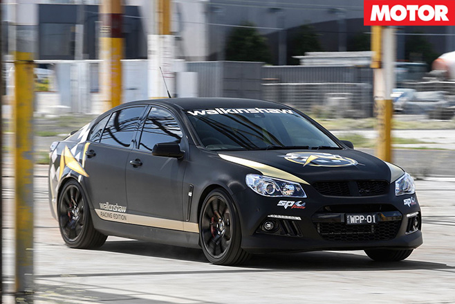 Walkinshaw Racing Edition front