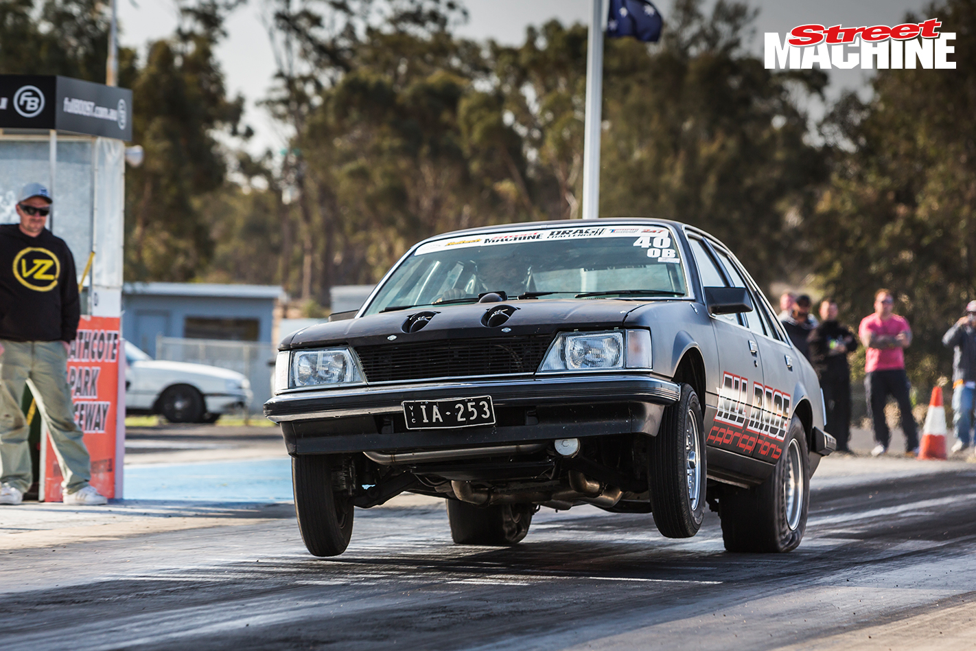 Bubba VH Commodore Drag Challenge