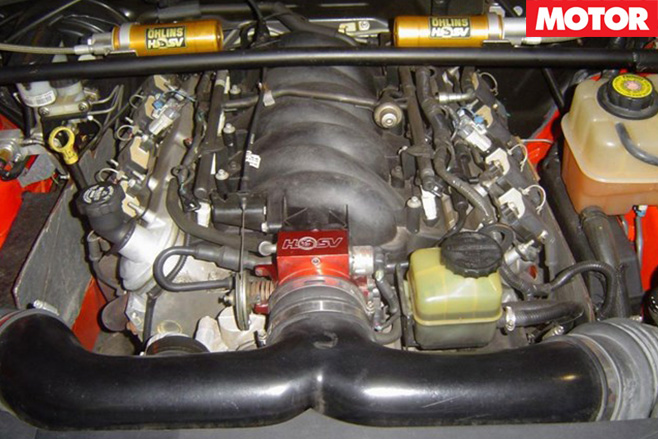 Holden Monaro HRT 427 engine
