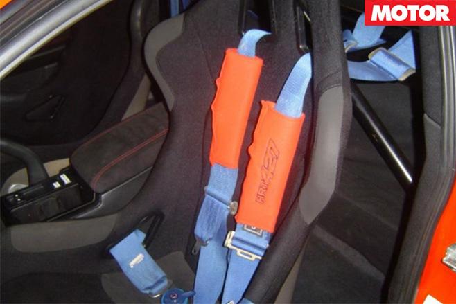 Holden Monaro HRT 427 seats