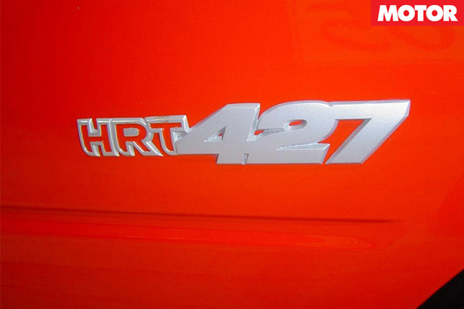 Holden Monaro HRT 427 badge