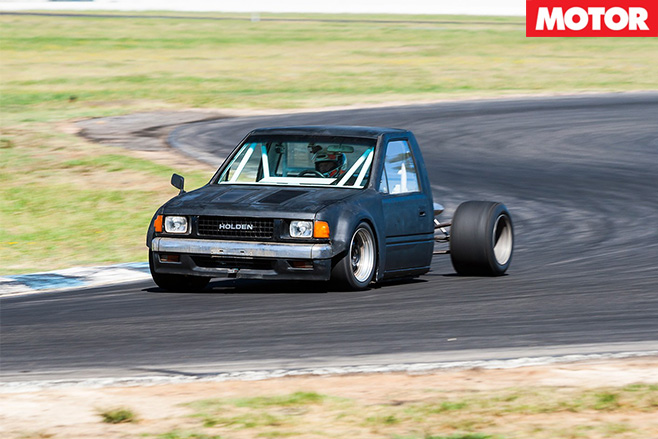 Mid -engine -Holden -Rodeo -track -monster -driving