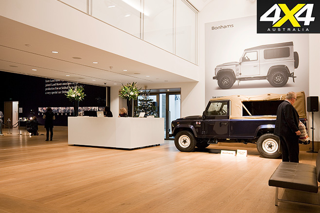 Bonhams preview land rover 2 millionth