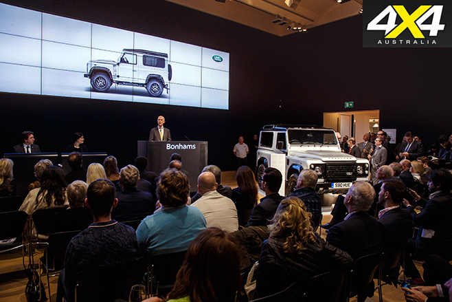 2 millionth land rover defender sold record price