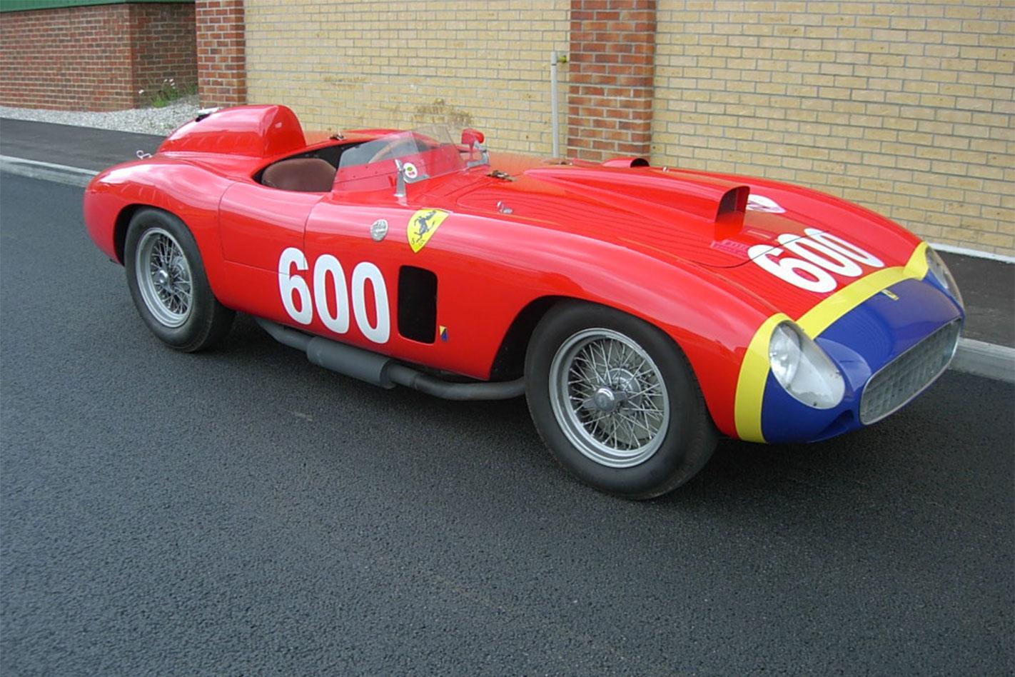 Fangio -Ferrari -front