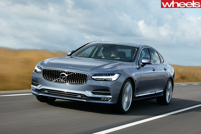 Volvo -S90-front -side -Headlights