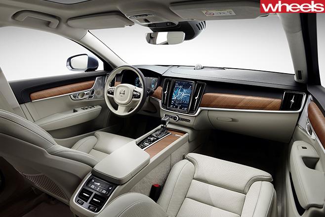Volvo -S90-interior