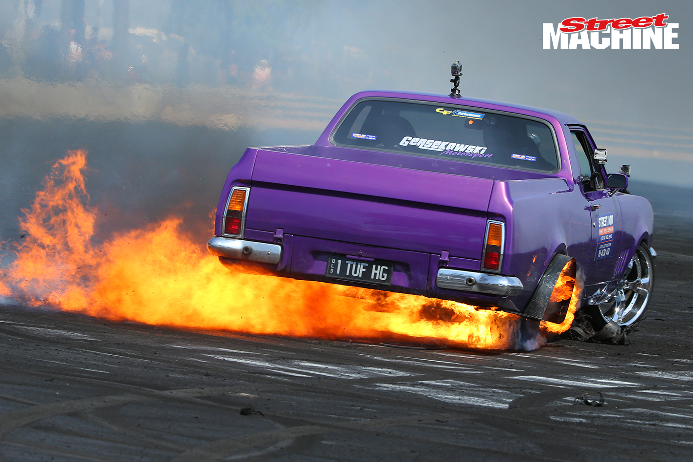 HG Ute Burnout Fire Powercruise