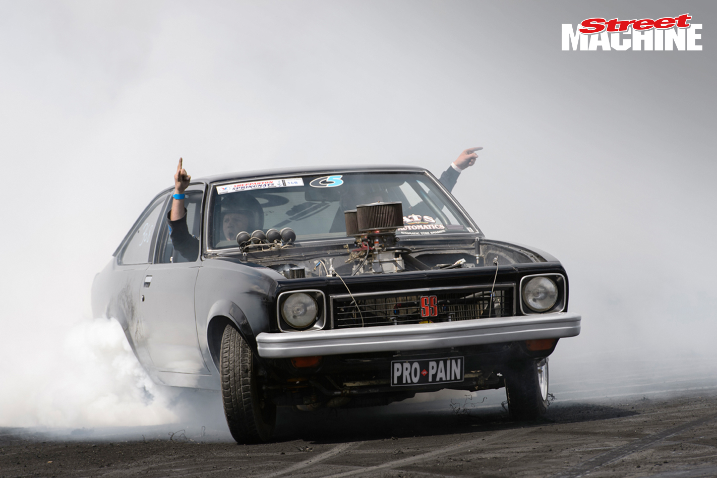 LX Torana Hatch Burnout Powerfest