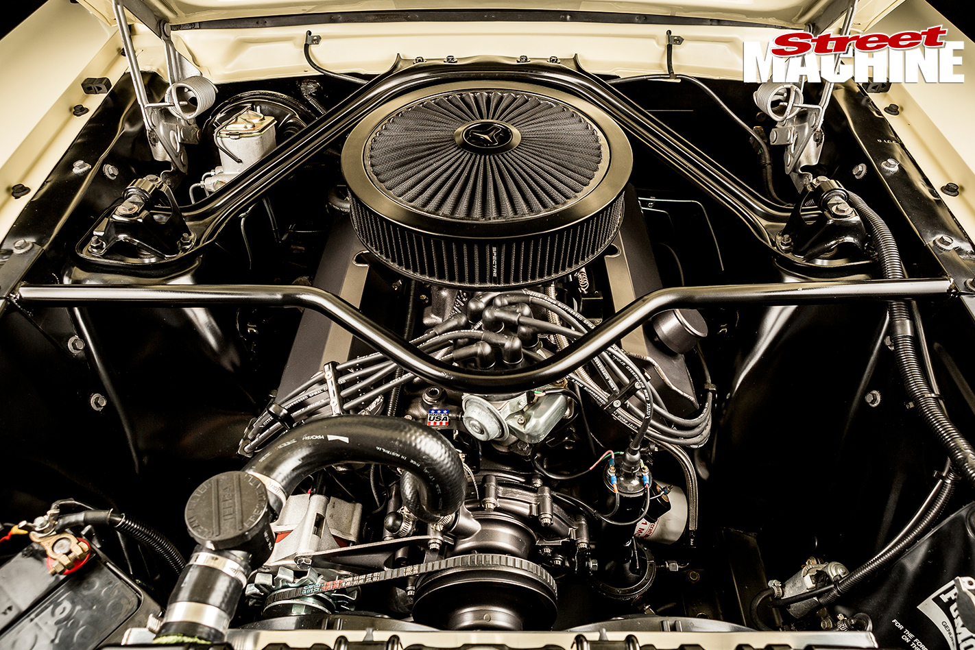 Ford -Mustang -1-engine