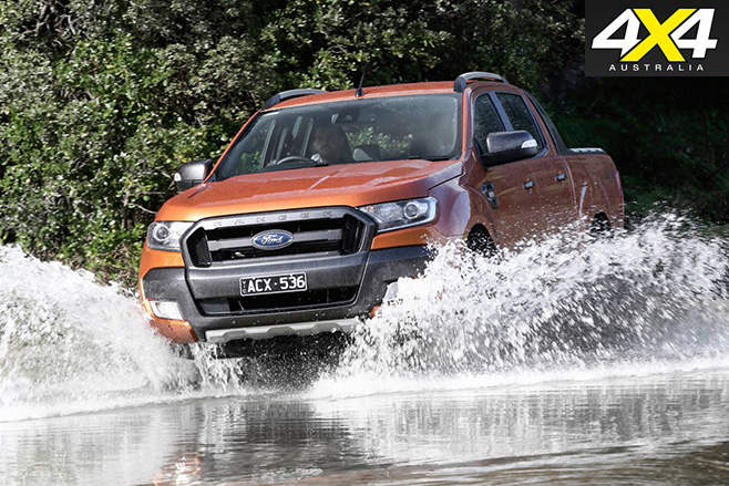 Ford Ranger Wildtrak Water