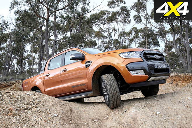 Ford -Ranger -Wildtrak -hill