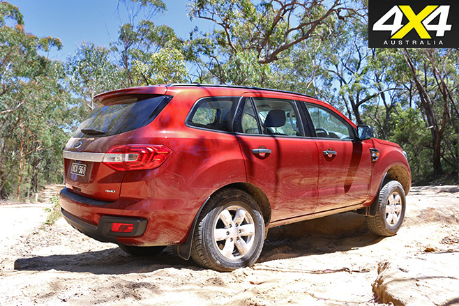 Ford Everest Ambiente rear