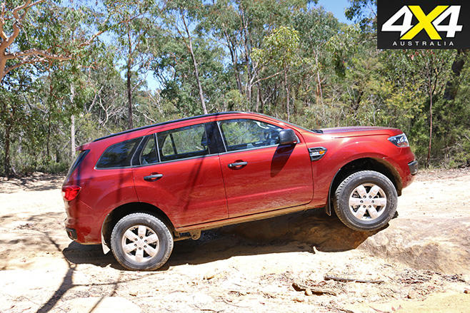 Ford Everest Ambiente side up