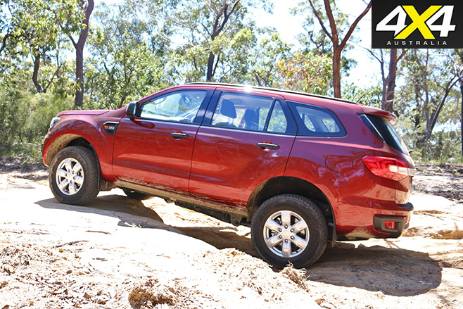 Ford Everest Ambiente side