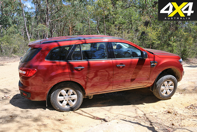 Ford Everest Ambiente suspension