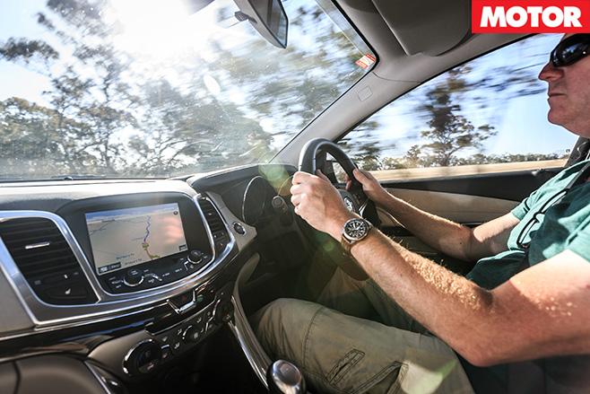 David Morley driving