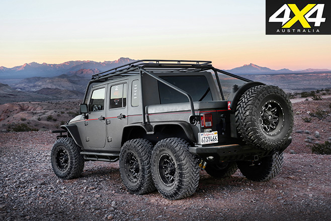 6x6 hellhog jeep wrangler rear