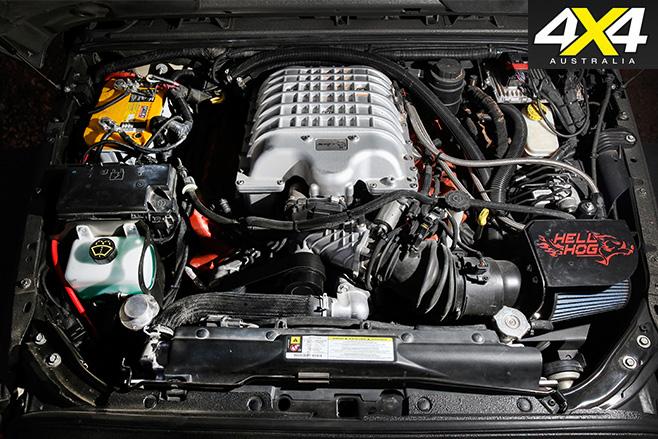 6x6 hellhog jeep wrangler engine