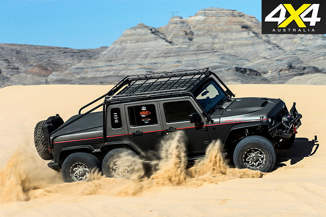 6x6 hellhog sand driving