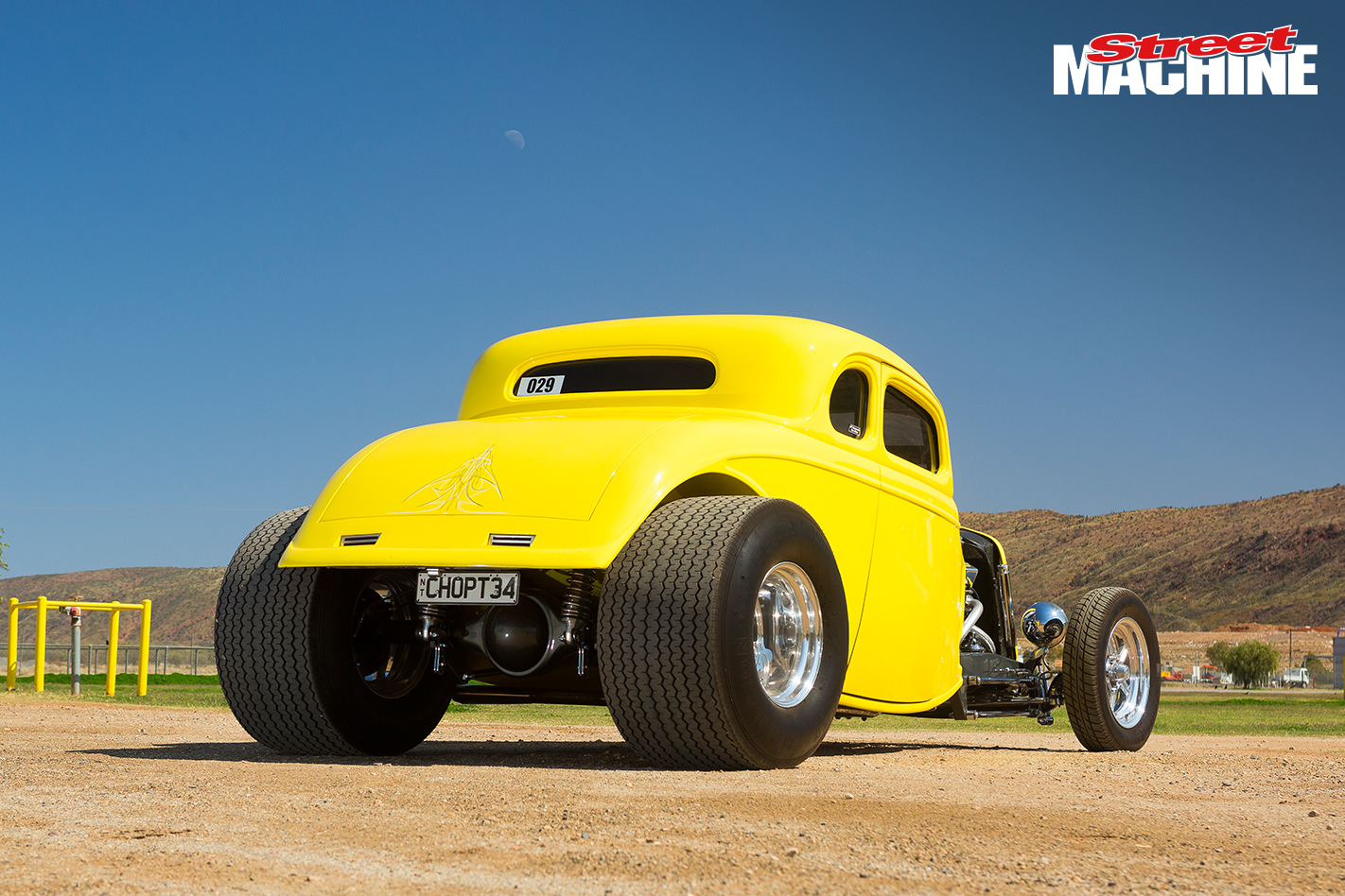WILD \'34 COUPE AT RED CENTRE NATS
