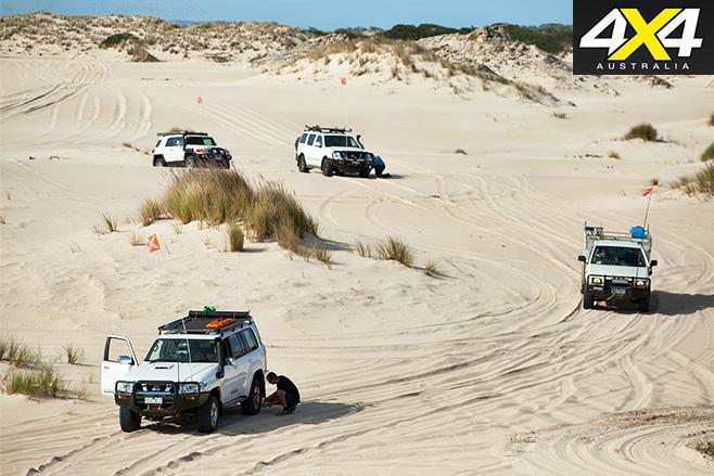 Portland dunes sand driving