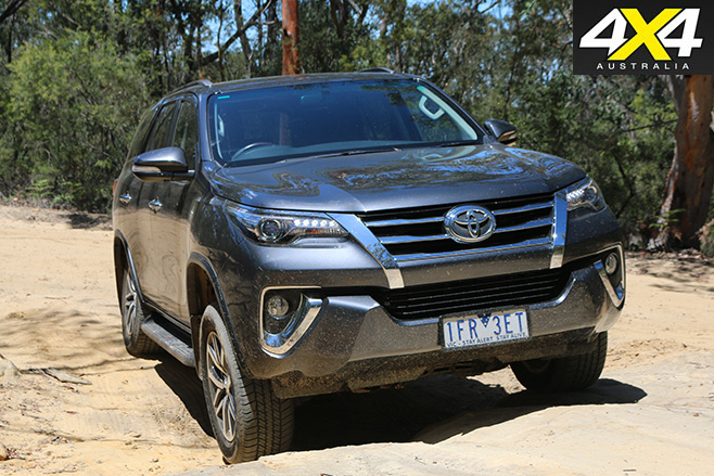 Toyota fortuner crusade -front