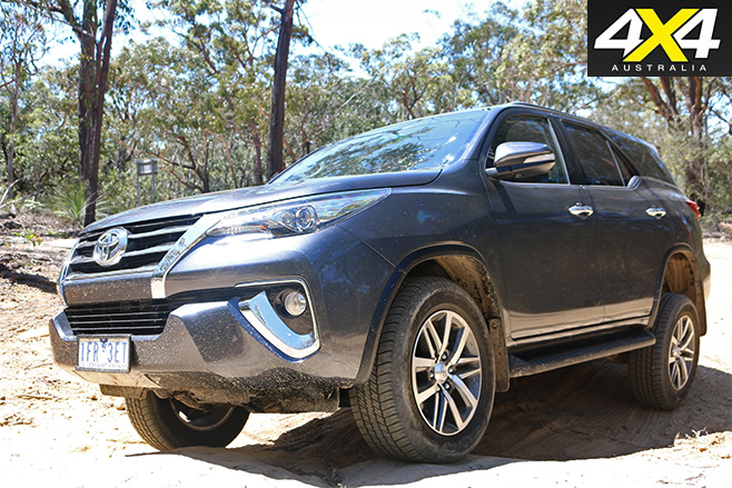 Toyota fortuner crusade front 2