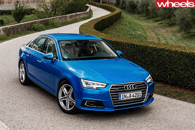 Audi -A4-front -side