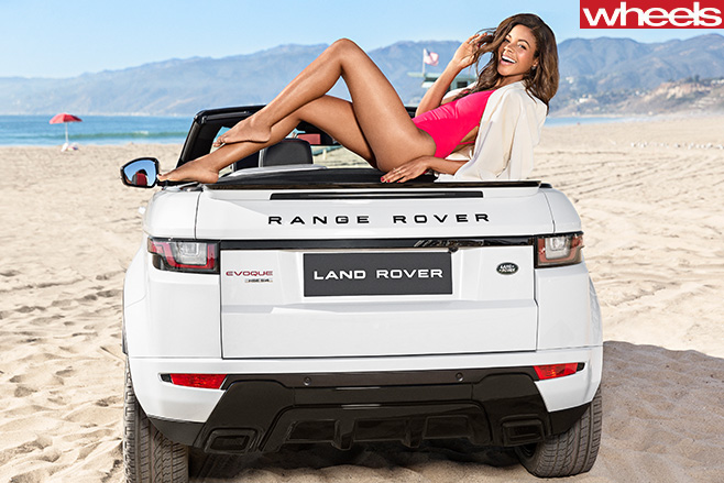 Range -Rover -Evoque -convertible -rear