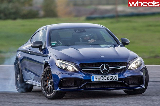 Mercedes -C63-Amg -Coupe -driving -front