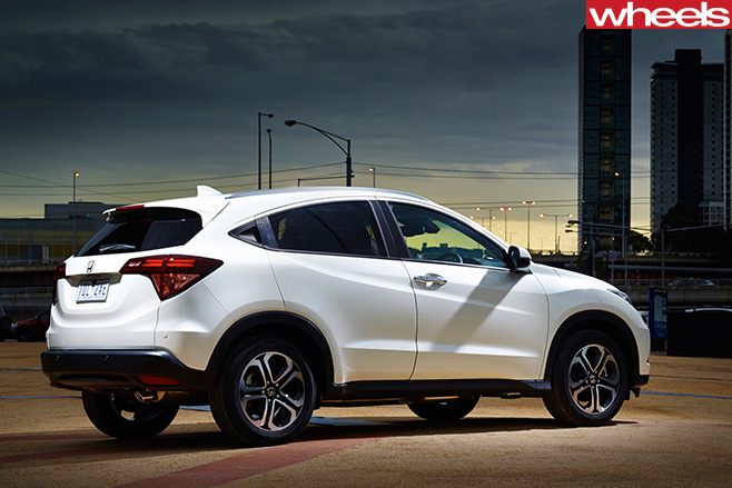 Honda -HRV-rear -side
