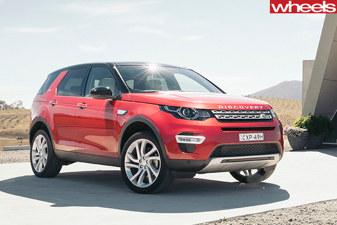 Land -Rover -Discovery -Sport -front -side