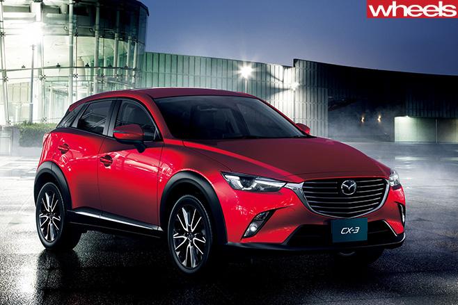 Mazda -CX-3-front