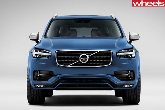 Volvo -XC90-front