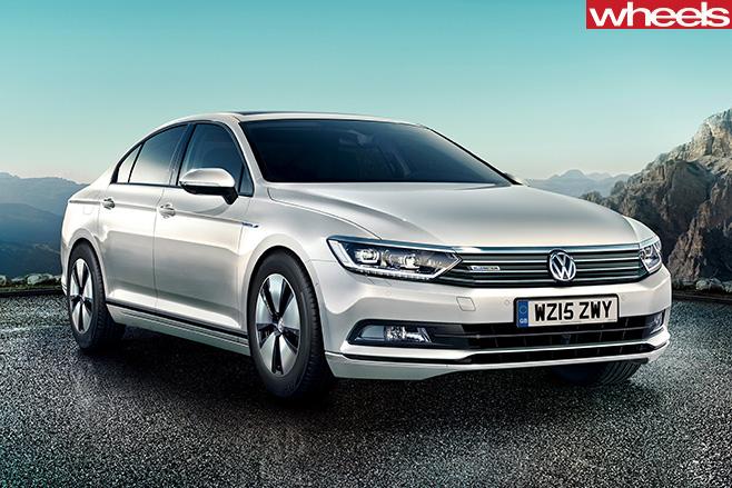 VW-Passat -front -side