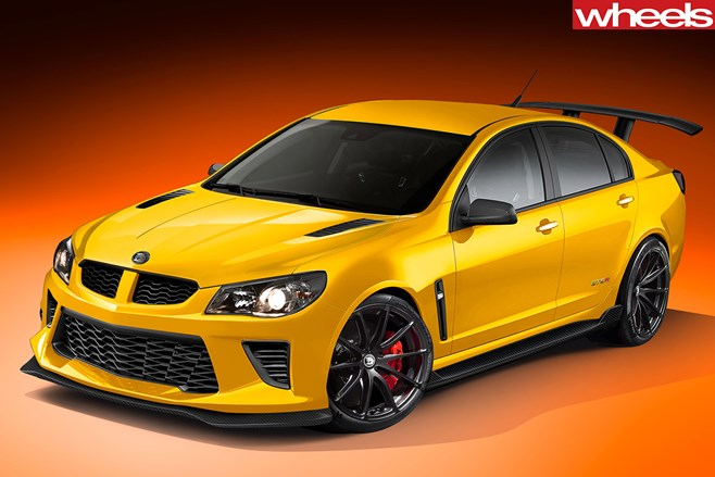 HSV-GTS-R-front